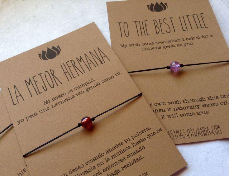 M s de 25 ideas fant sticas sobre pulseras de la amistad en pinterest pulseras con ancla - Que regalar a tu hermana ...