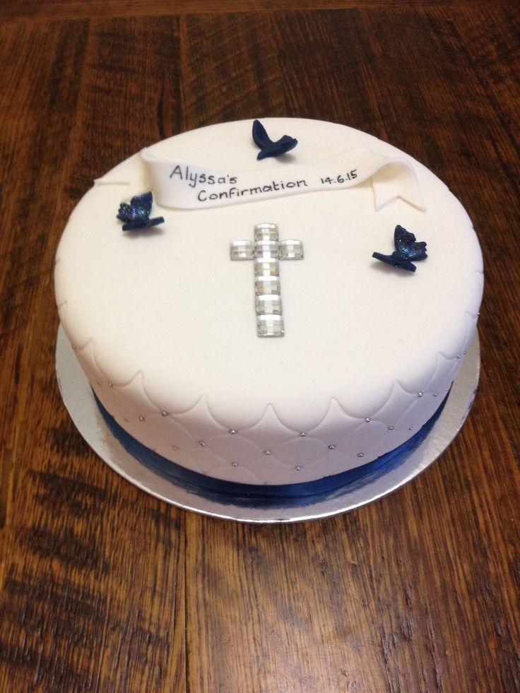 Alyssa's Confirmation cake