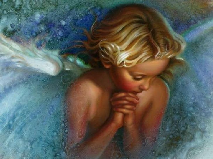 Angel in prayer Nancy Noel
