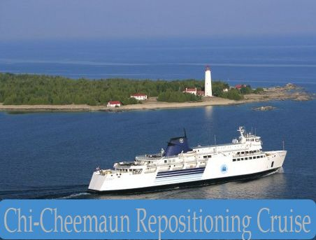 You're invite to experience this 'once-a-year' opportunity and set sail for an amazing 5-hour spring cruise on scenic Georgian Bay along the coast of the spectacular Bruce Peninsula on the Chi-Cheemaun!  The cruise liner is more notably known as means to get from Tobermory to Manitoulin Island, as it transfers thousands of cars and passengers throughout the summer months.  During the winter, the large vessel makes its home in Owen Sound.