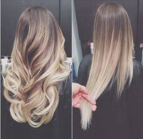 don't love the ombre but I love the curls!!