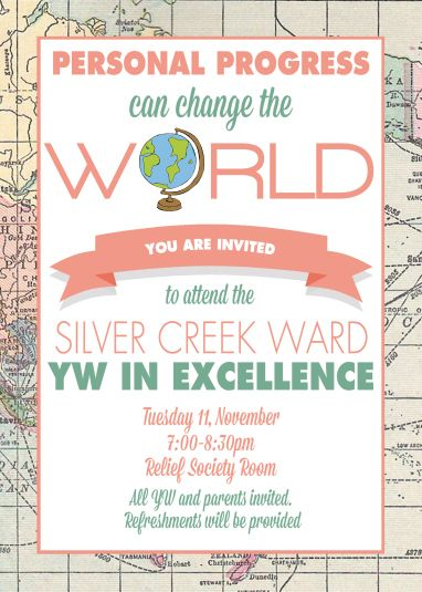 YW New Beginnings or Young Womens in Excellence Personal Progress program