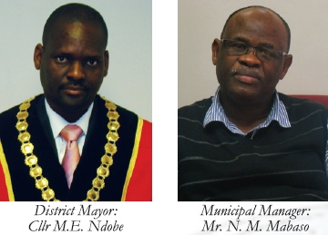Sisonke Mayor and Municipal Manager