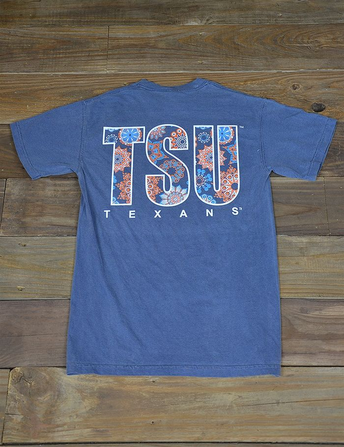 Enjoy this new Boho Dream Tarleton State University t-shirt! This Comfort Color is super trendy for spring! Go Texans!-Your Second Place Pinterest Winner!!