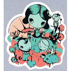 Misery Sticker - Hik Billy