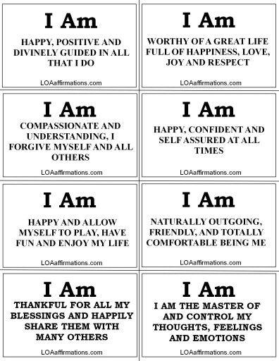 I Am! - Feel Great Affirmations