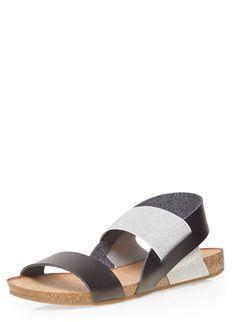 Black 'Salinas' sandals