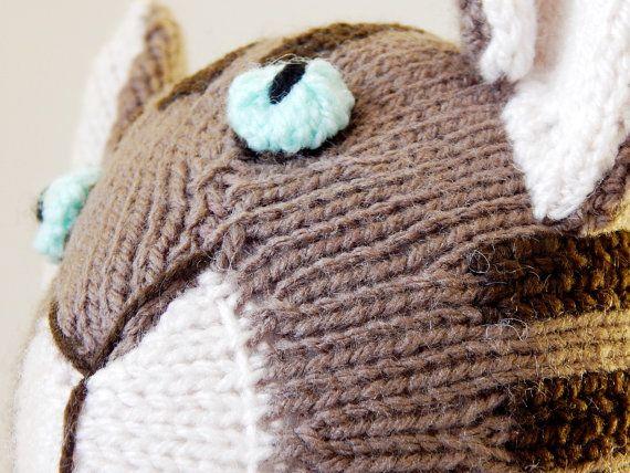 TOM KITTEN Beatrix Potter handknitted cat hand by MadeWithAltitude