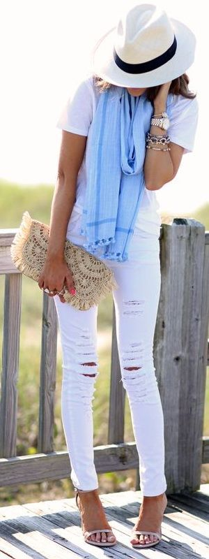 Perfect early summer outfit.