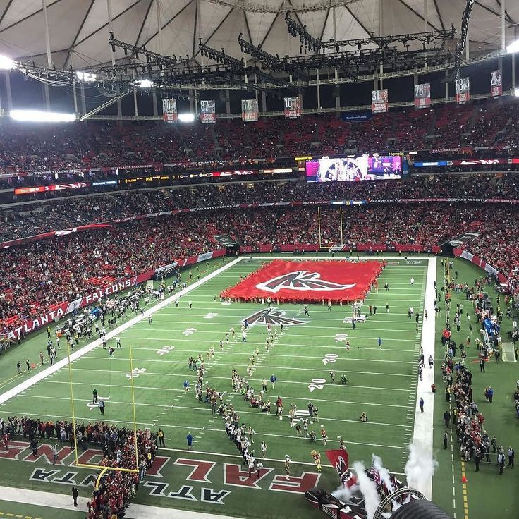 Great shot of the #AtlantaFalcons entering the Georgia Dome for one of the last time! Thanks @m.l.ga!  #SuperTailgate #tailgate #tailgating #win #letsgo #gameday #travel #adventure #stadium #party #sport #ESPN #jersey #sports #league #SportsNews #score #love #Football #NFL