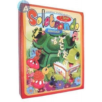 Soletrando 1ª Série Alfabetização 6 a 7 anos - Livros Pedagógicos e Infantis - Magia da Leitura