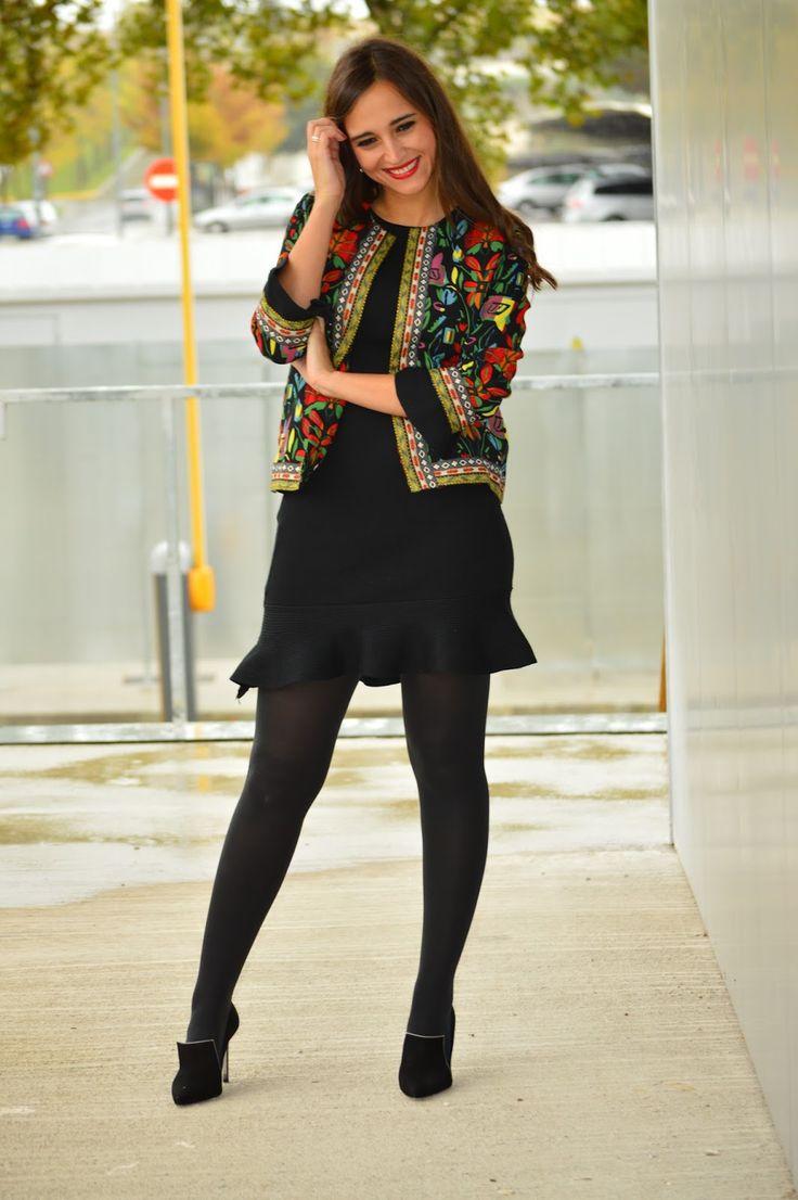1000 MANERAS DE VESTIR: Stylewe #pantyhose #black #heels #legs #blogger