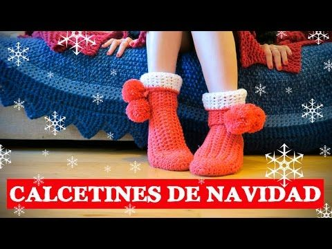 M s de 25 ideas incre bles sobre calcetines de ganchillo - Como hacer calcetines de lana ...