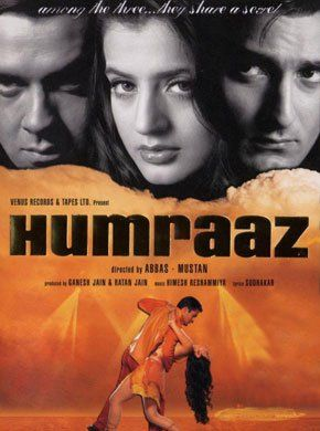 Humraaz Hindi Movie Online - Bobby Deol, Akshaye Khanna, Amisha Patel, Dilip Joshi, Sheela Sharma, Suhasini Mulay and Johny Lever. Directed by Abbas-Mustan. Music by Himesh Reshammiya. 2002 [U/A] ENGLISH SUBTITLE