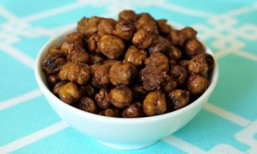 Roasted Cinnamon Honey Chickpeas | Spry LivingSpry Living