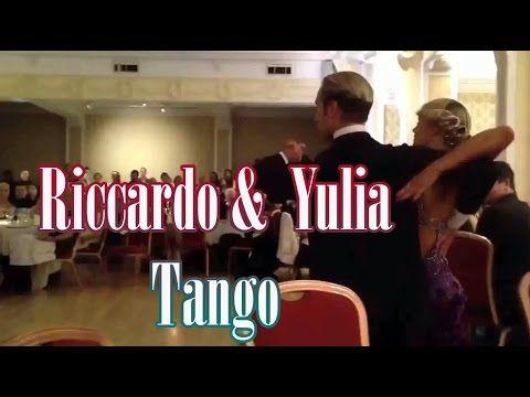 Riccardo Cocchi & Yulia Zagoruychenko world champions tango | танцевальный юмор | dance humor - YouTube