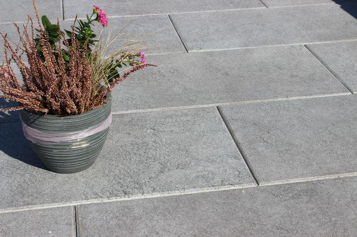 Lumea Basalt Terrassenplatte in 80x40 cm Terrassenplatten - mauersteine antik diephaus