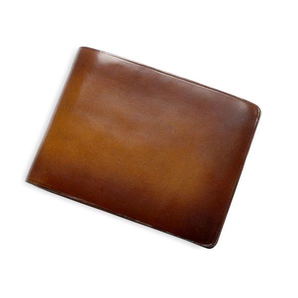 Sfumato Dollar Size Wallet by Il Bussetto #sfumato #wallet #dollarsize #dollarsizewallet #leather #leathercraft #leathergoods #ilbussetto #mensfashion