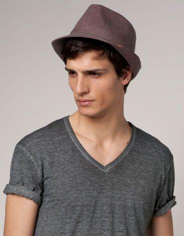 Sombrero de la moda hombres 2012