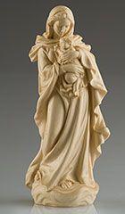 Virgen Renacentista (Imagen en madera) - Talla de madera - Imágenes de Vírgenes - Imagineria religiosa