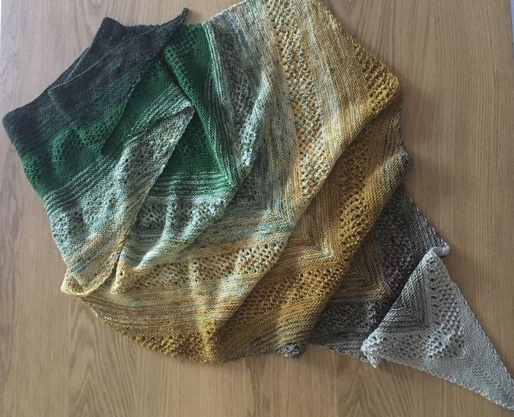 Fade Shawl Knitting Project By Rebecca S Knitting