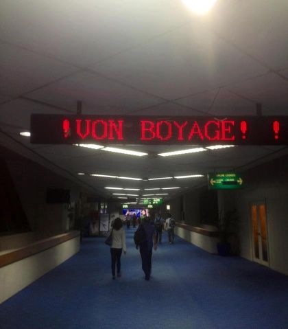 Bon Voyage! Funny English Signs, Funny Pinoy, Funny Filipino Pictures, Tagalog jokes, Pinoy Humor pinoy jokes #pinoy #pinay #Philippines #funny