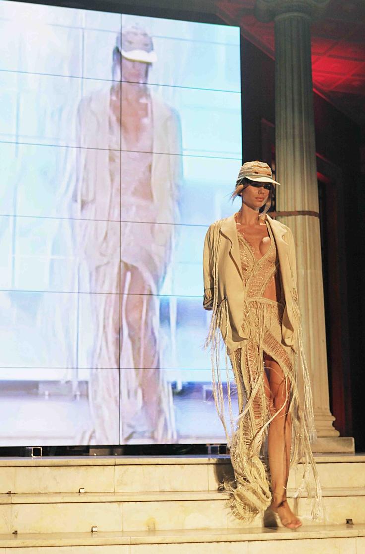 Natar Georgiou in DoItEco Cyprus Fashion Show