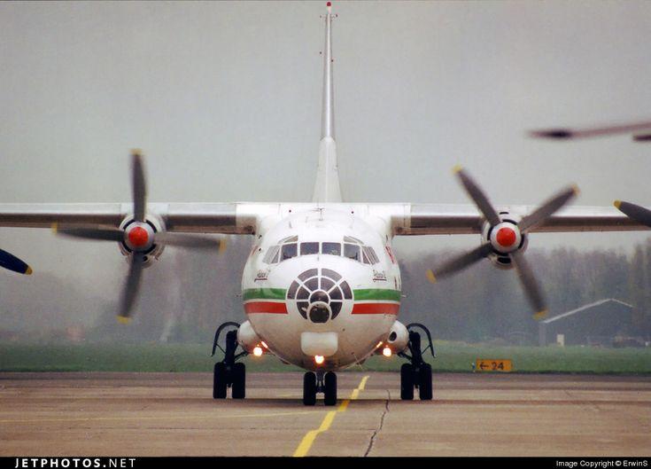 Balkan Cargo Antonov An-12BP LZ-BAE 402001 Rotterdam-The Hague Airport - EHRD