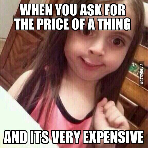 Expensive things