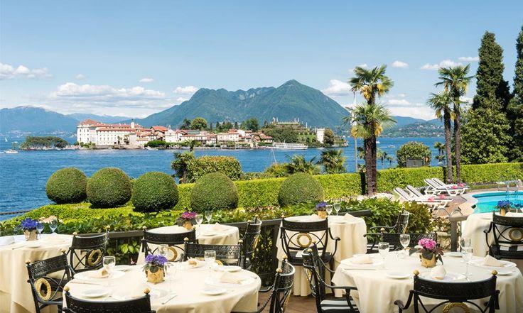 Hotel Villa & Palazzo Aminta in Stresa, Italy #hotel #stresa #italy #view #lakemaggiore