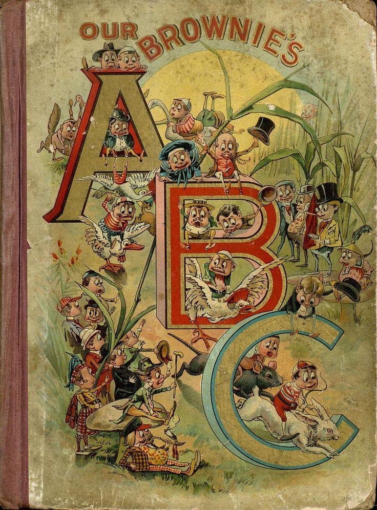 Our Brownie's ABC by Palmer Cox 1898