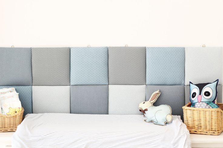 Nursery Tiles Decor Protective Wall Pillows Decorative