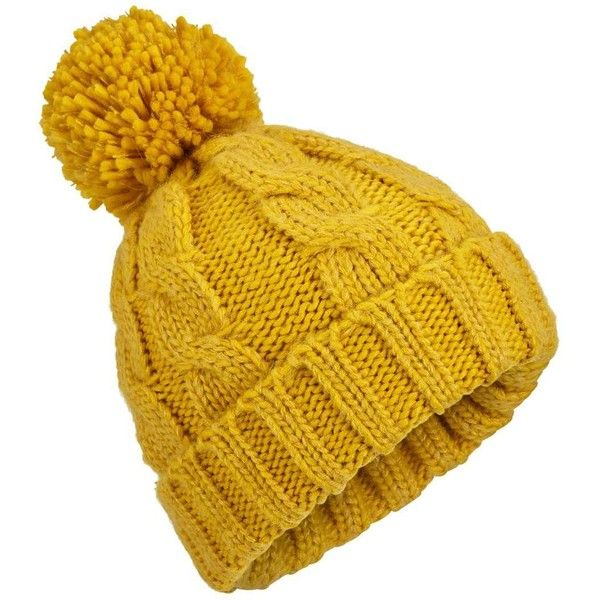 Miss Selfridge Chartreuse Pom Beanie ($23) ❤ liked on Polyvore featuring accessories, hats, chartreuse, pom pom hat, miss selfridge, pompom hat, beanie cap and fur beanie