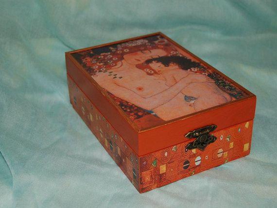 Tea box  Gustav Klimt