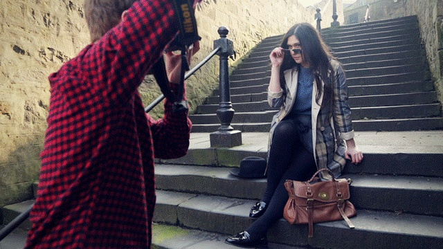 BARBOUR Tartan Edition - click on the picture to see the animated gif! #fashion #gifs