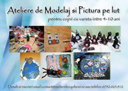 Ateliere de Modelaj si pictura pe lut