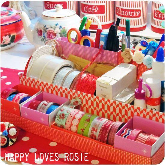 HAPPY LOVES ROSIE: Happily Getting Organised