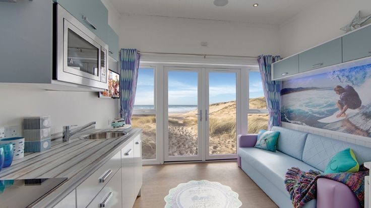 """Luxury Glamping Holidays in North Devon - Woolacombe. Read more via """"Camping News"""