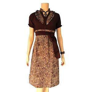 Dress Batik Solo Indonesia