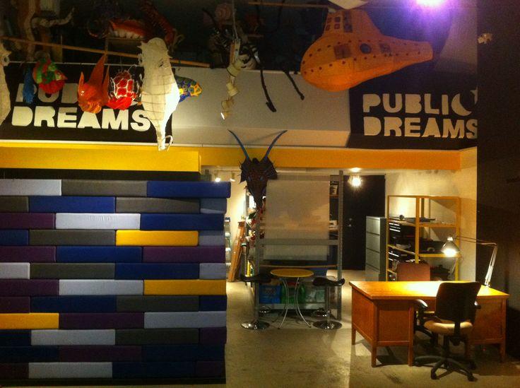 Retro-fit + Make-over of Art  + Design Studios/Offices for non-profit Arts + Cultural Organization, Public Dreams Society, East Vancouver.