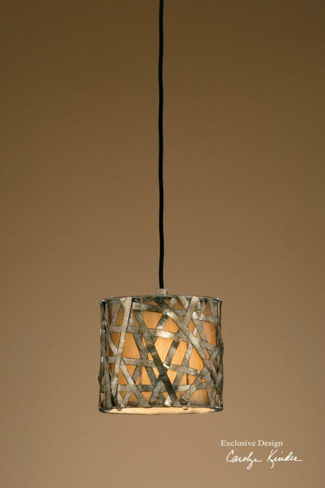 uttermost lighting alita champagne mini metal hanging item 21839 - Uttermost Lights