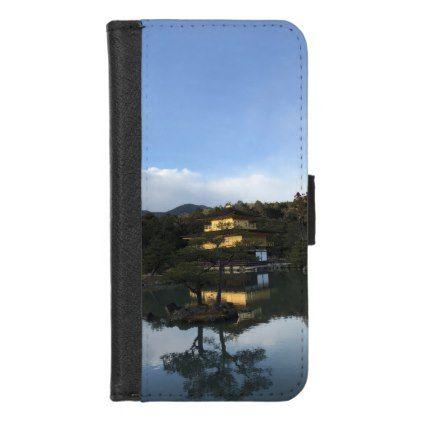 Beautiful Kyoto Golden Pavilion Kinkaku-ji iPhone 8/7 Wallet Case  $26.95  by malloryweiss  - custom gift idea
