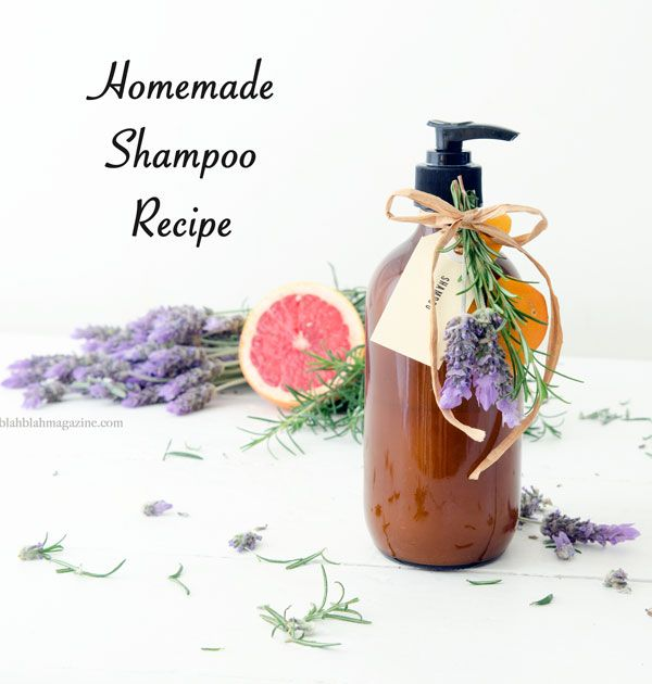 "Homemade shampoo recipe. check out using ""herb tea"" option because I already grow a lot of the ingredients."