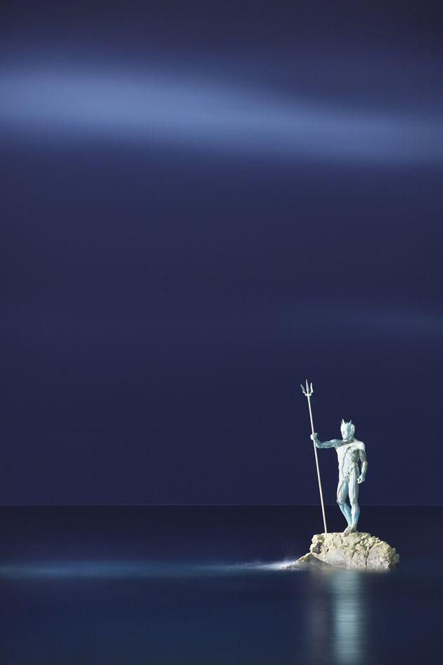 Neptune statue, Gran Canaria, Canary Islands.