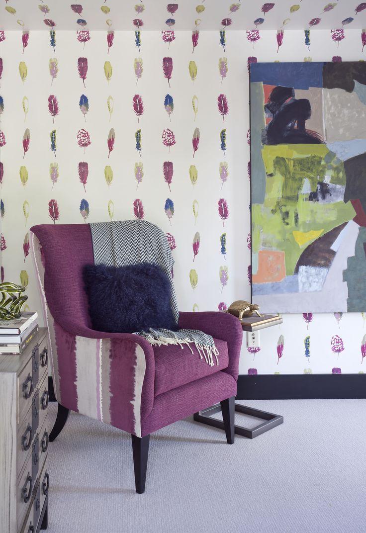 2105 Denver Designer Show House Color Side Study Design By Atelier Interior Photography