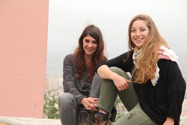 Sara e Martina a Melilla