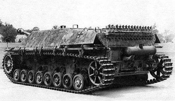 A Jagdpanzer L/70 Lang version anti tank gun based on the Panzer 4 chassis
