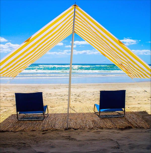 Byron Bay Beach Shade - YELLOW