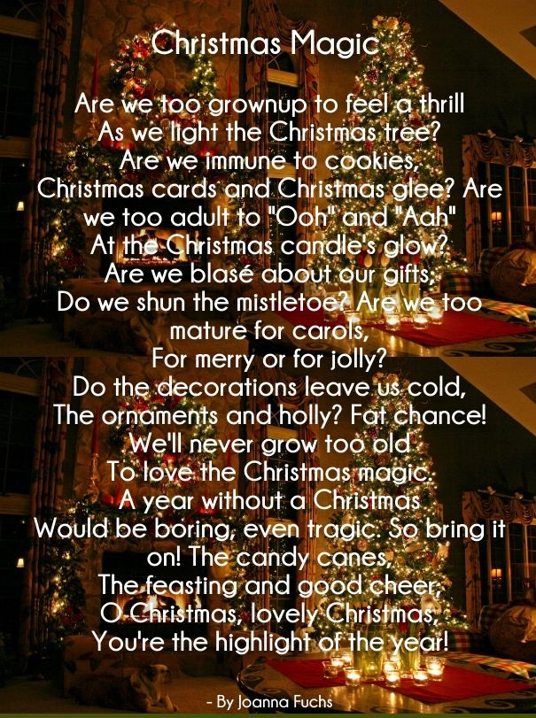 Delightful 25 Merry Christmas Love Poems For Her And Him