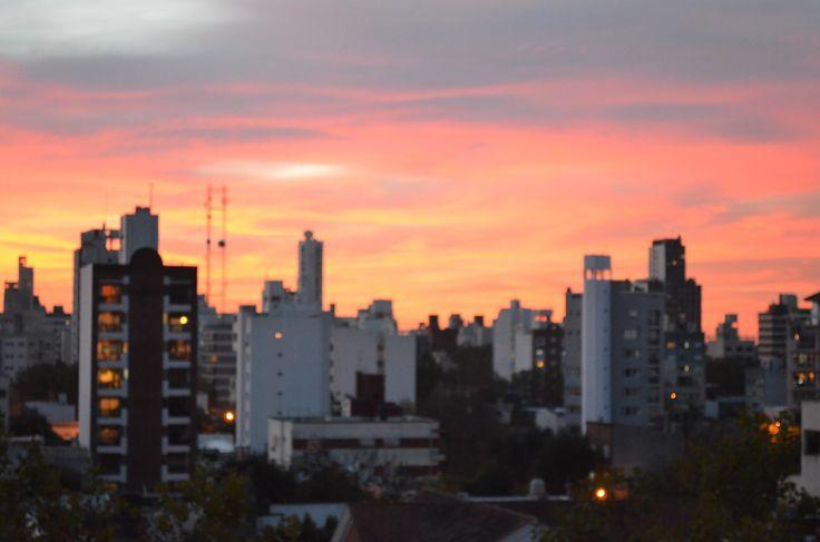Atardecer en La Plata, Bs. As. Argetina